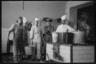 Кухня комендатуры германской военной полиции. Польша, 1940-1941 годы.