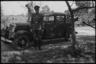 Командир германской военной полиции и его водитель. Польша, 1940-1941 годы.