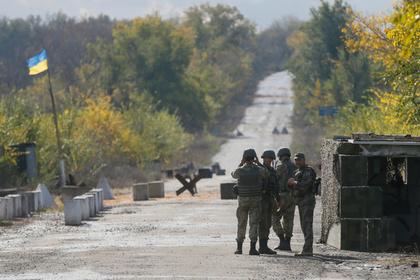 Пьяный украинский командир расстрелял своих подчиненных в Донбассе