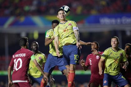 «Гениальный» навес подарил Колумбии победу в матче Кубка Америки