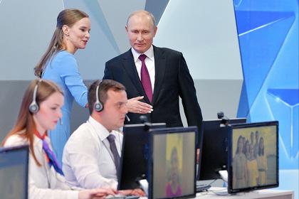 Путина спросили о нацпроектах