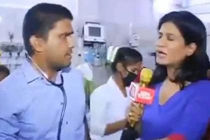 Беспардонная телеведущая ворвалась в госпиталь и перепугала врачей с пациентами