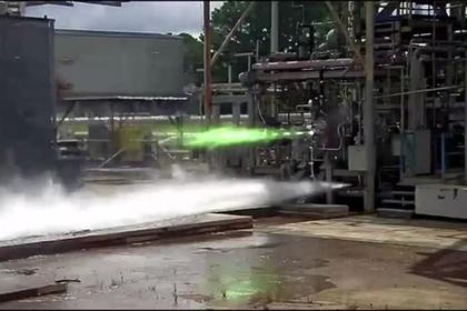 США испытали показанный 9 мая лунный двигатель