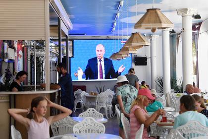 Путин поделился способом побороть лень