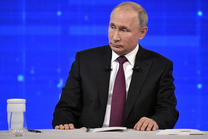 Путин рассказал о наемниках в Сирии