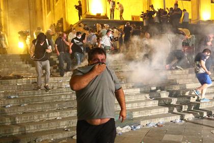 США отреагировали на антироссийские протесты в Грузии
