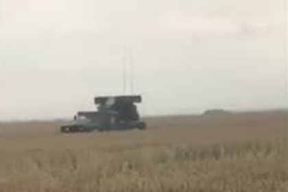 Появилось видео заблудившихся на огороде войск НАТО