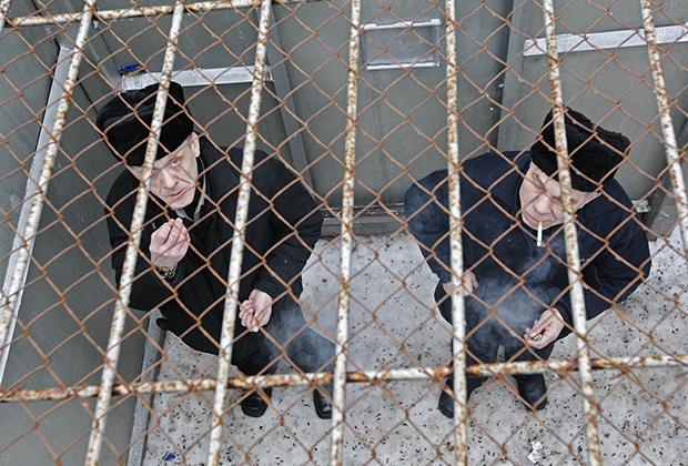 Прогулка осужденных ИТК-5 «Вологодский пятак»