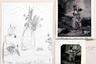 Работа фотографа начинается, разумеется, с идеи, которую он затем зарисовывает на бумаге, а после — длительное время работает с изображением, добавляя или убирая элементы. В год Уиткин снимает от десяти до двенадцати фотографий, никогда не работает в сериях, а в съемке ему помогает один постоянный ассистент.