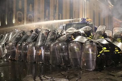 Протесты в Грузии привели к еще одной отставке
