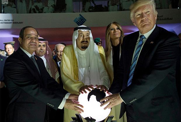 Суннитские страны Ближнего Востока — ближайшие союзники США и противники шиитского Ирана.
