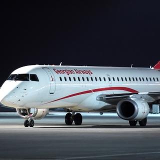 Самолет авиакомпании Georgian Airways