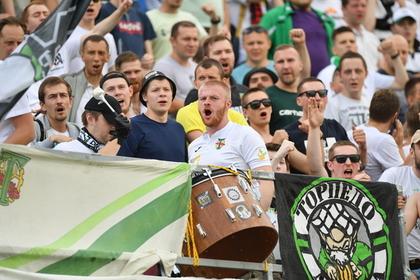 На матче в Москве после выступления посла Великобритании призвали «***** коней!»