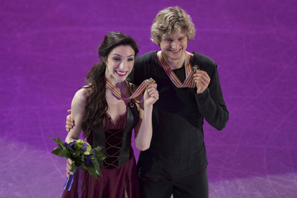 Олимпийская чемпионка из США вышла замуж за российского фигуриста