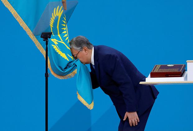 Касым-Жомарт Токаев принимает присягу