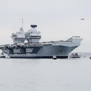 Британский авианосец «Королева Елизавета»