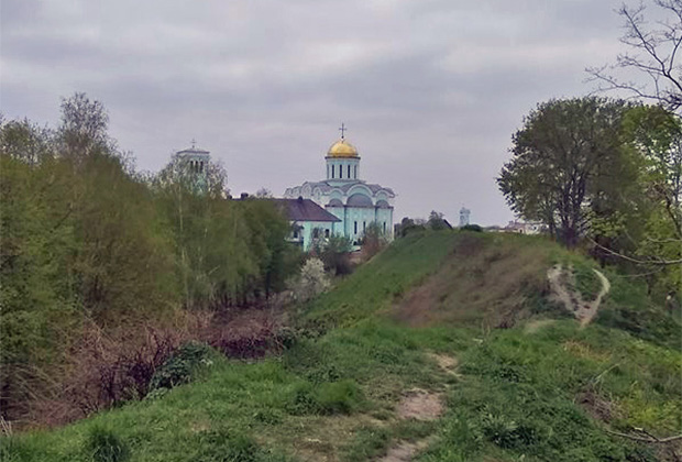 Успенский собор XII века в городе Владимир-Волынский