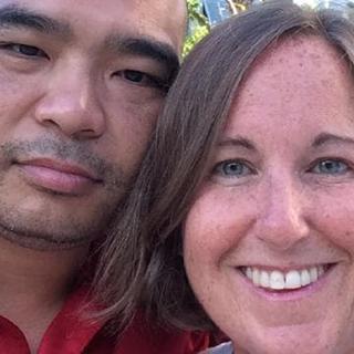 Мэри Кэтрин Дерин с мужем Тони