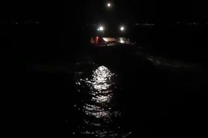 Появилось видео спасения Владимира Кличко с горящей яхты