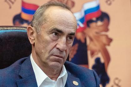 Скандально освобожденного экс-президента Армении снова арестовали