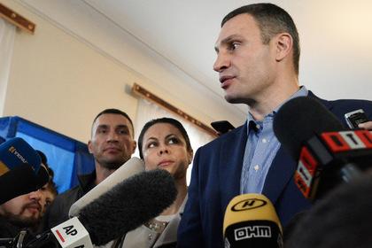 Кличко пообещал бороться за проспект Бандеры