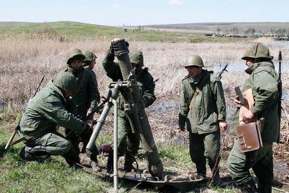 В ЛНР заявили об отводе войск в Донбассе
