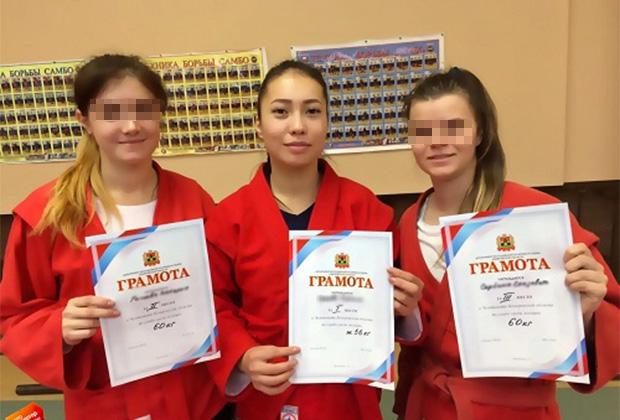 Карина Ороева — победительница ведомственных соревнований по борьбе