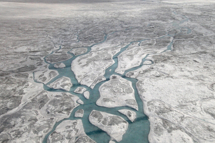 Найдены затерянные озера со следами неизвестной жизни