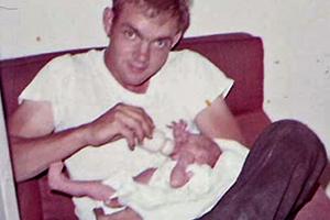 Терри Расмуссен в 1969 году