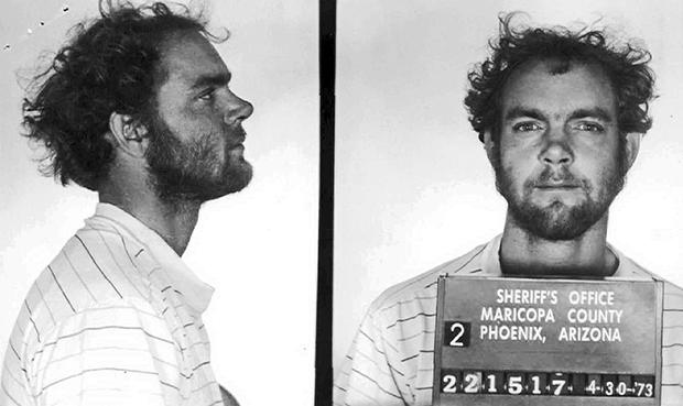 Фото преступника, сделанное в 1973 году