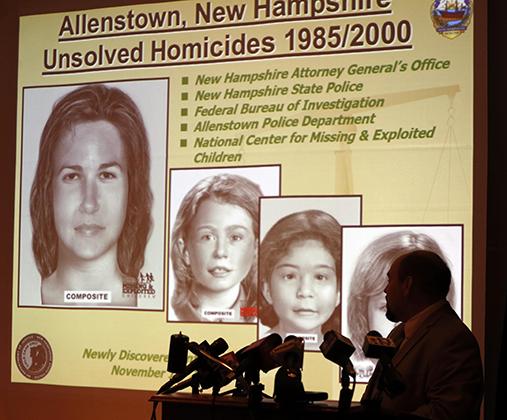 Четыре жертвы Расмуссена, найденные в Алленстауне