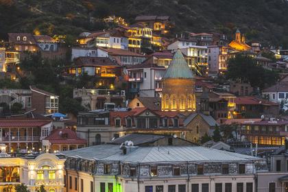 Названо точное число находящихся в Грузии российских туристов