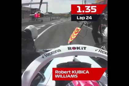 В «Формуле-1» провели самый быстрый пит-стоп