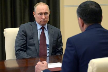 Путин принял отставку Евкурова