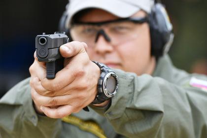 Замену пистолету Макарова впервые показали в деле