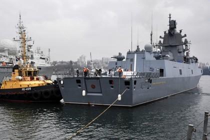 Американцы установили слежку за «Адмиралом Горшковым»