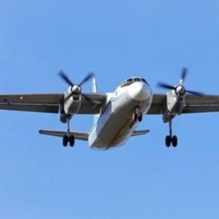 Самолет Ан-24. Архивное изображение