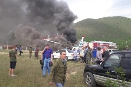 Появились подробности аварии с самолетом в Бурятии