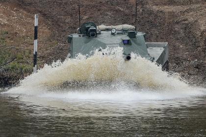 Из тонкокожего «Спрута» сделают плавающий танк