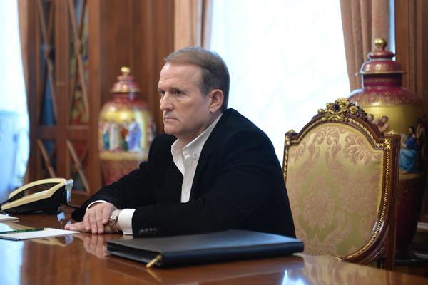 Медведчук встретился с главами ДНР и ЛНР
