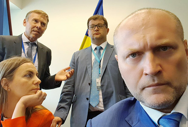 Делегат Украины в ПАСЕ, депутат Борислав Береза