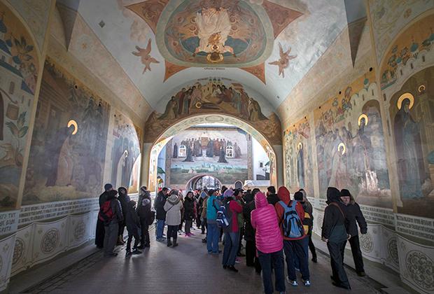 Архитектурный ансамбль Троице-Сергиевой лавры входит в список объектов всемирного наследия ЮНЕСКО