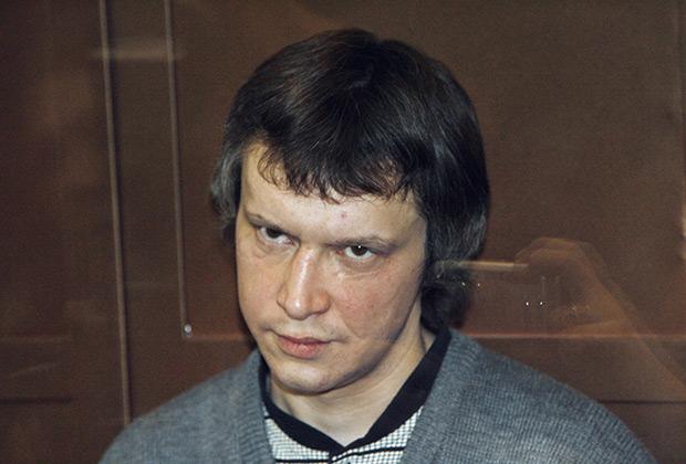 «Битцевский маньяк» Александр Пичушкин во время оглашения приговора