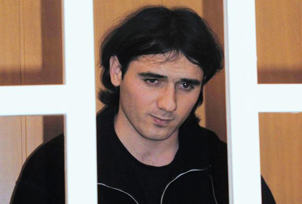 Нурпаши Кулаев в зале Верховного суда Северной Осетии