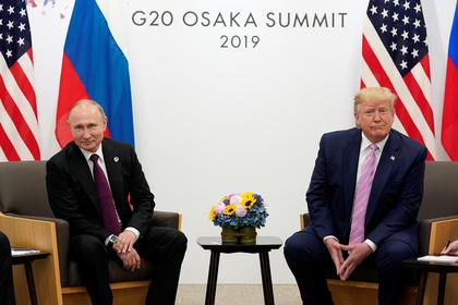 В Кремле прокомментировали встречу Путина и Трампа: Политика: Россия: Lenta.ru