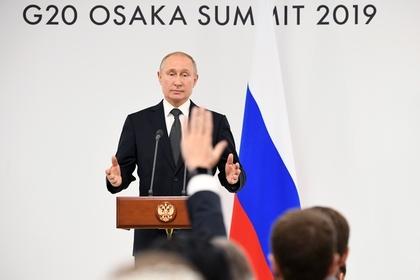 Путин отказался просить о снятии антироссийских санкций: Политика: Россия: Lenta.ru