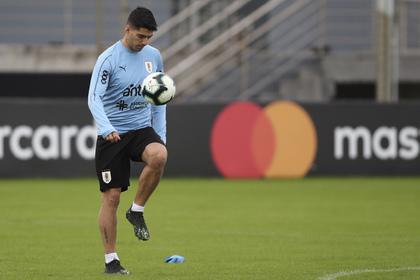 Суарес расплакался после поражения Уругвая в Кубке Америки: Футбол: Спорт: Lenta.ru