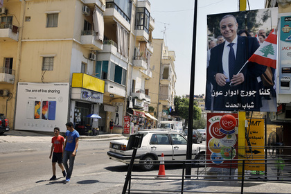 На улицах в Горном Ливане