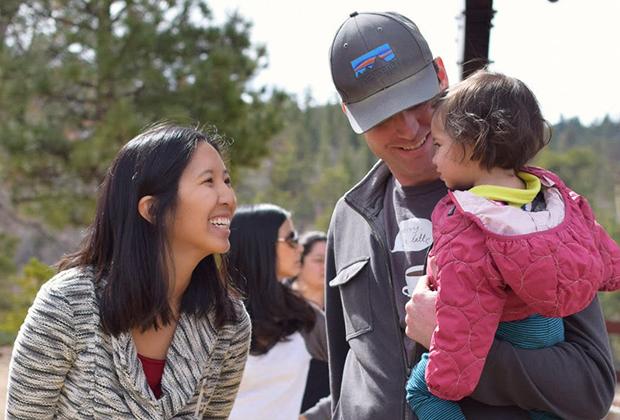 Эрика Ву, Тристан Бодет и их ребенок, 2015 год