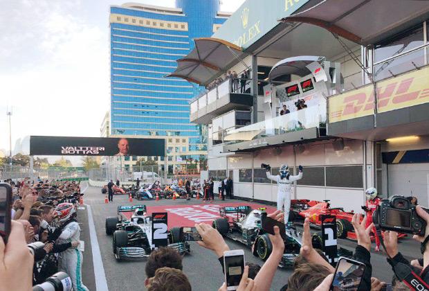 На постсоветском пространстве чаще всего побеждают гонщики Mercedes-AMG. Кажется, других победителей, что в Сочи, что в Баку просто не поняли бы.